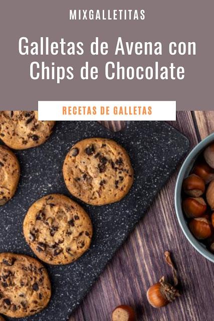 Cómo hacer galletas caseras de avena y chocolate