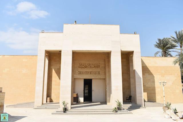 Museo Imhotep en Saqqara
