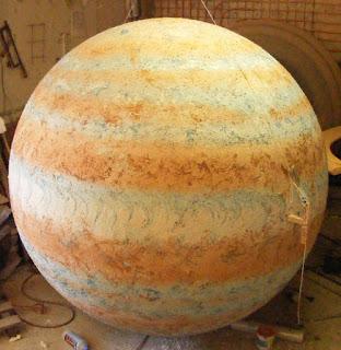 bolas para planetas