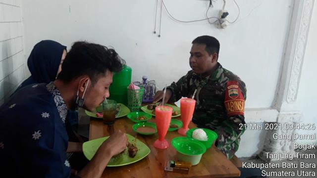 Jalin Silaturahmi, Personel Jajaran Kodim 0208/Asahan Dengan Laksanakan Komsos Bersama Dengan Warga Binaan