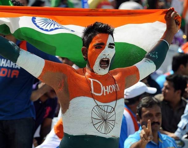 India cricket fan