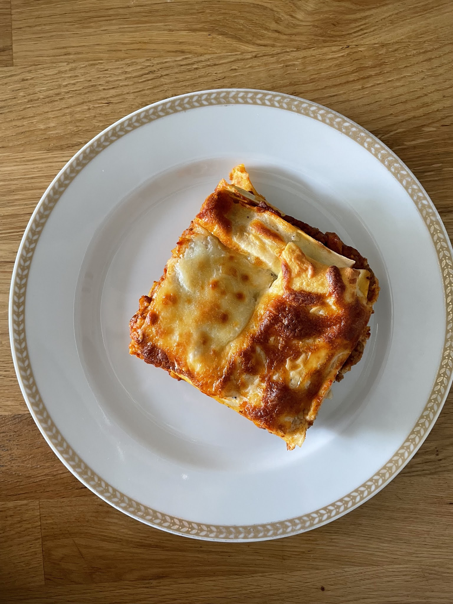 Lasagne z wołowym ragu