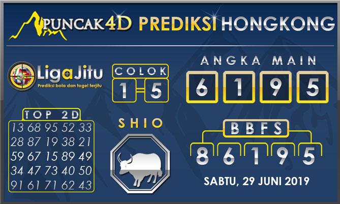 PREDIKSI TOGEL HONGKONG PUNCAK4D 29 JUNI 2019