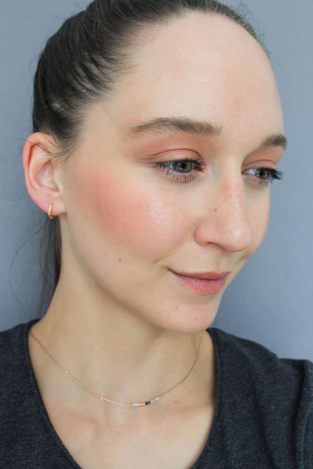 Ere Perez Carrot Colour Pot orange shade Healthy. Vegan, cruelty free makeup. Selfie, swatch