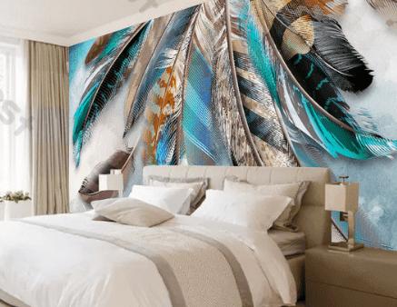 Wallpaper Custom 3D Kamar Tidur Keluarga | Wallpaper Custom Murah Online | Tempat Jual Iklan  Wallpaper Custom Murah Online