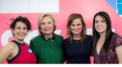 Hillary Clinton at Broad City