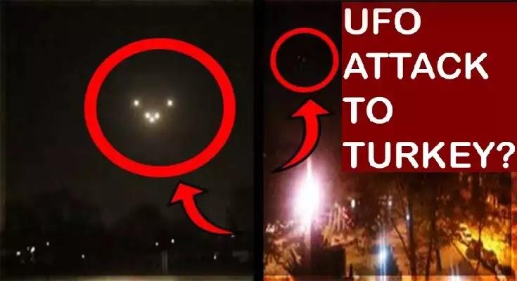 «UFO» στην Τουρκία – Παροξυσμός από hashtag #ufoattackturkey [Βίντεο]