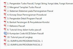 Ebook Pemrograman Turbo Pascal Lengkap Dari Pemula Hingga Mahir