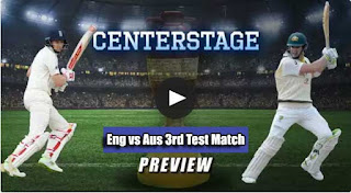 Test Match Aus vs Eng 3rd Test Match Prediction Today