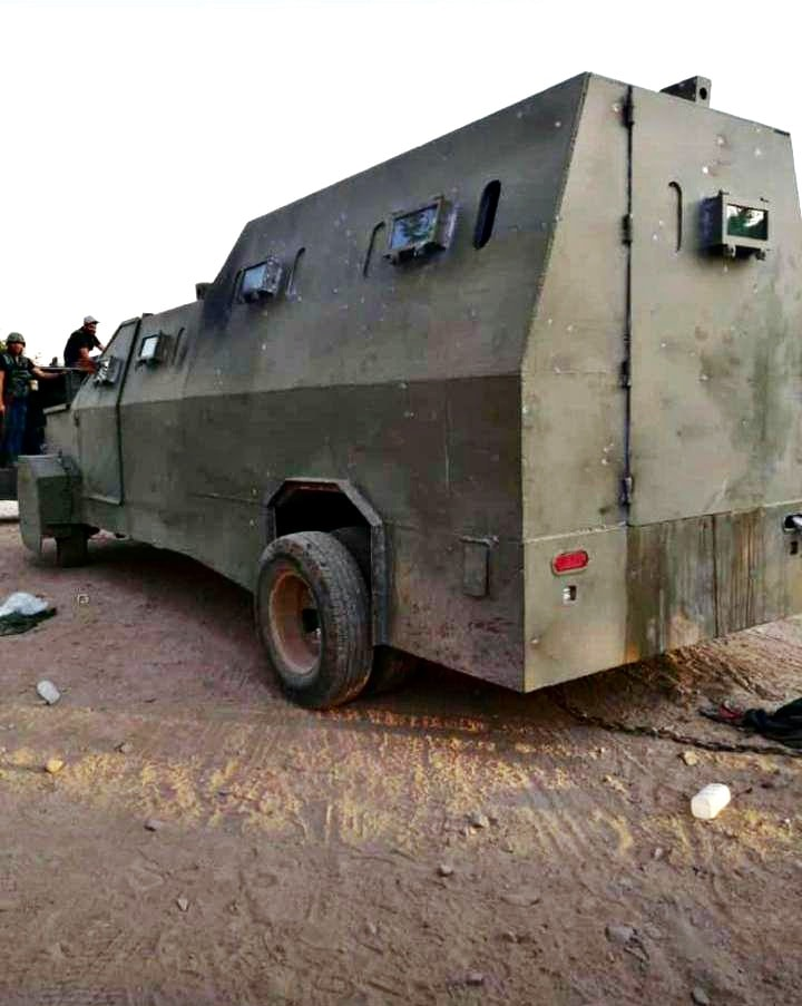 El CJNG iba por 'El Abuelo' en camión blindado; hay 3 muertos (video y fotos)_04