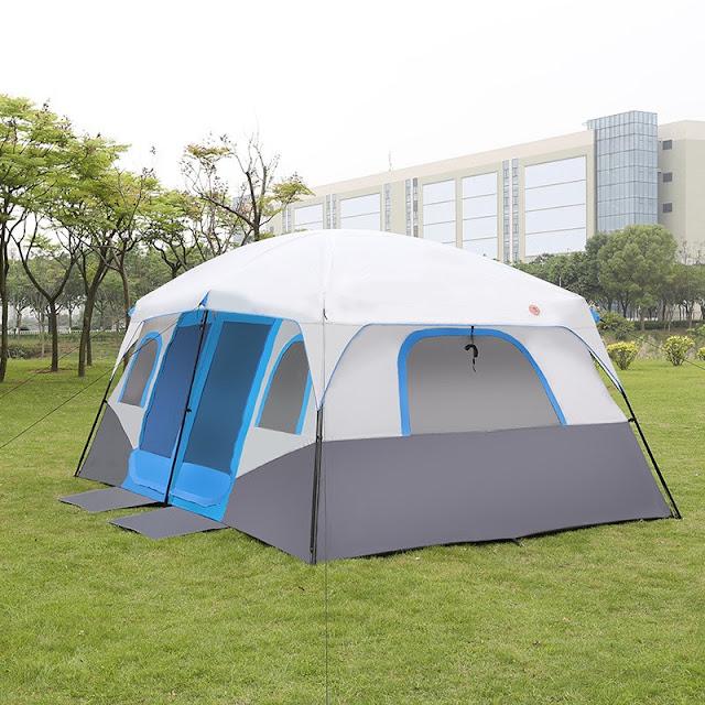 Tenda kabin cocok untuk berkemah bersama keluarga