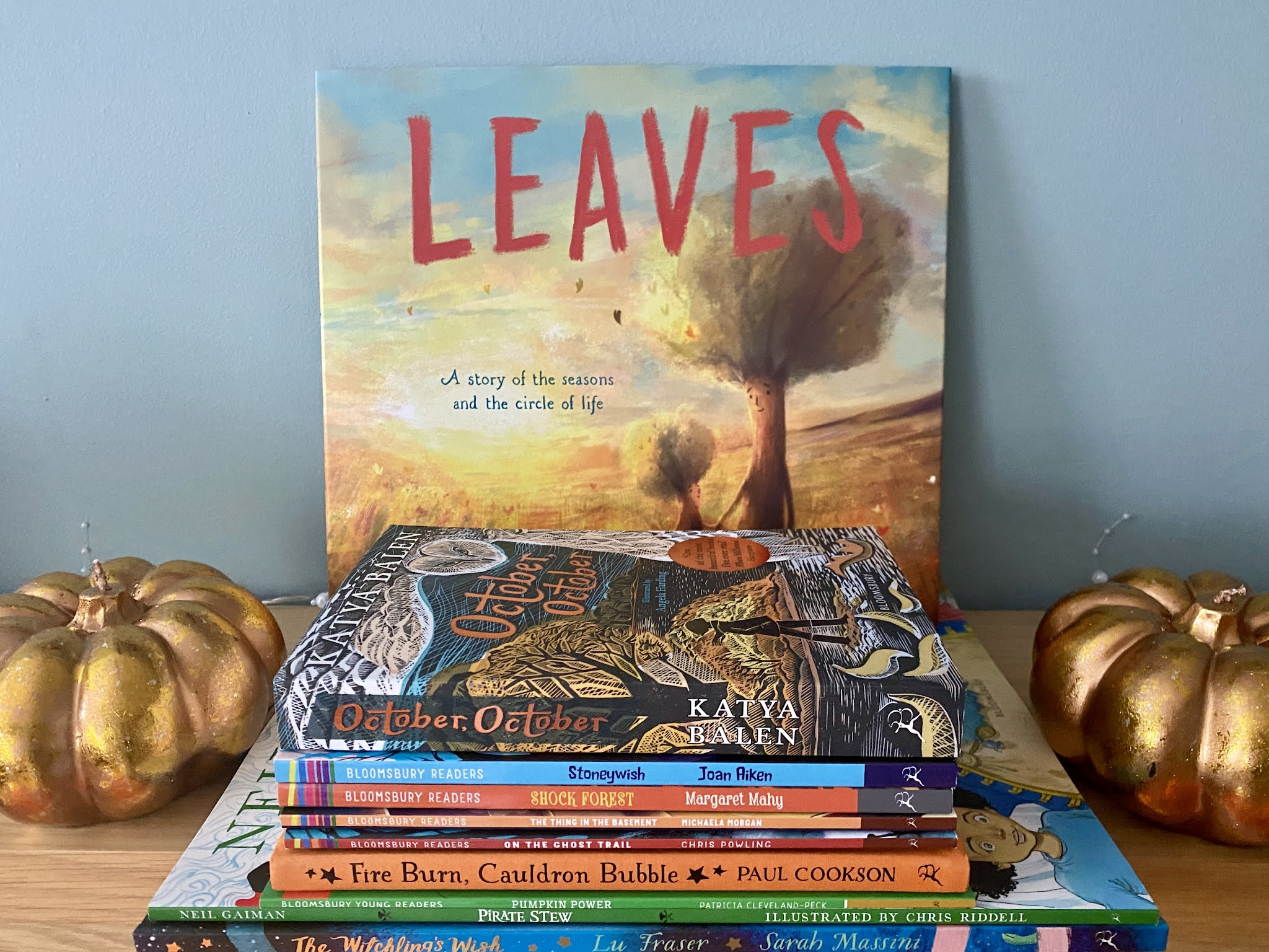 Leaves book