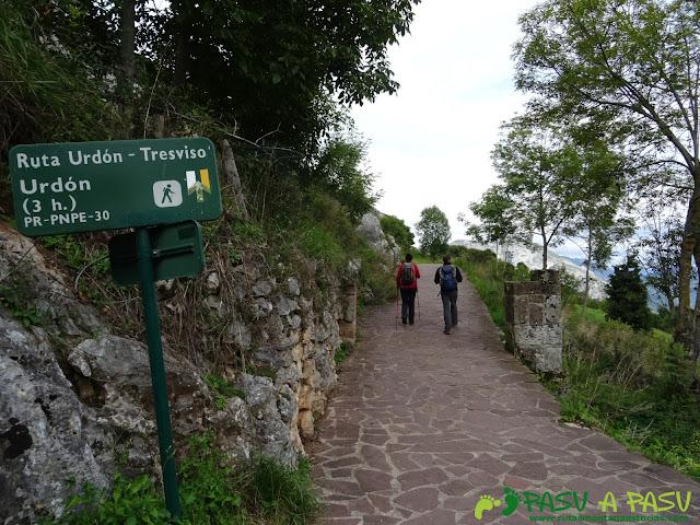 De Urdón a Tresviso: Inicio de la PR-PNPE 30 en Treviso
