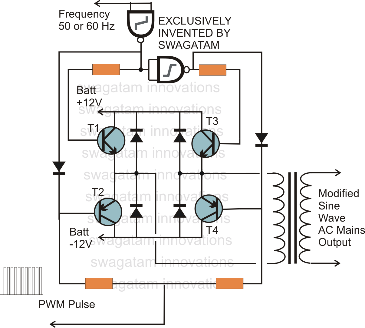 Pwm H-Bridge Circuit
