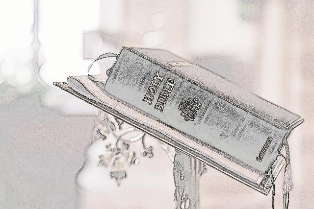 The bible saves me
