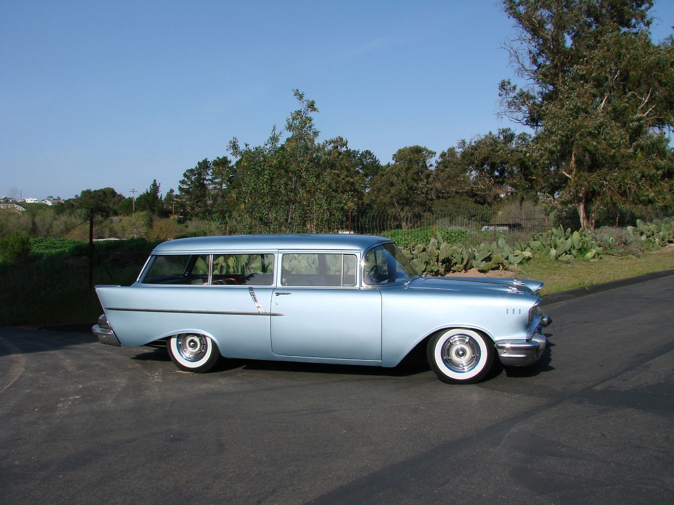 57 Chevy Wagon For Sale