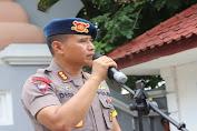 Dansat Brimobda Banten, Pimpin Apel Kesiapan Operasi Kontijensi Aman Nusa II Tahun 2020