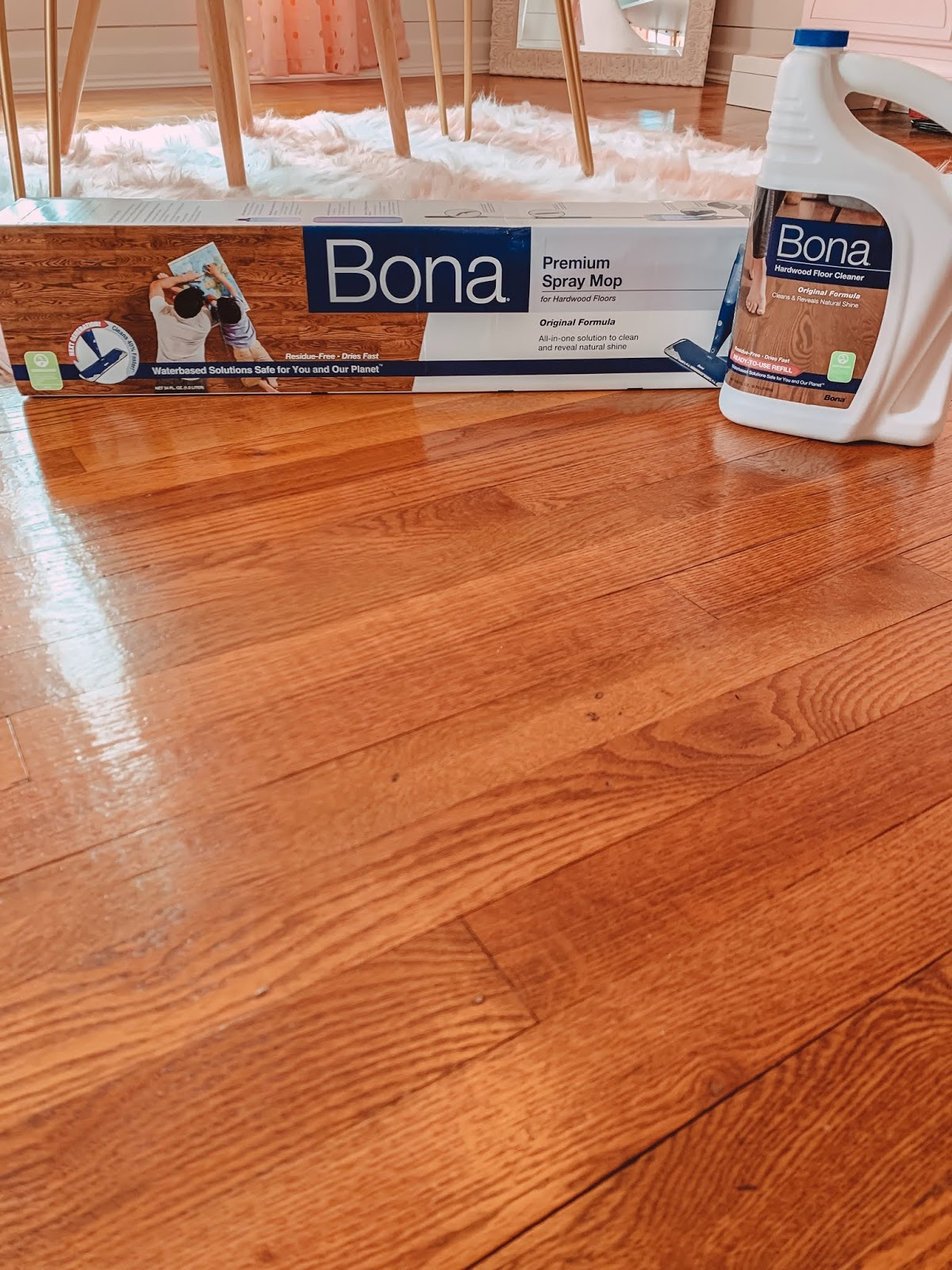 Jen Miracle Keep Your Hardwood Floors Clean And Beautiful With Bona