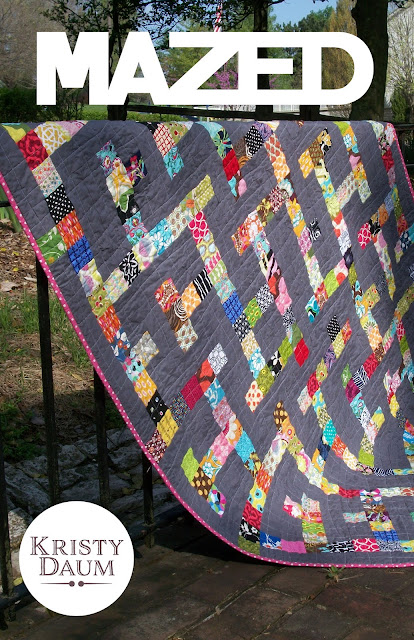 MAZED Quilt Pattern - Kristy Daum