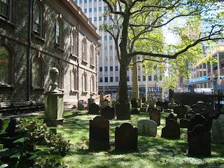 Nova York - St Pauls Chapel