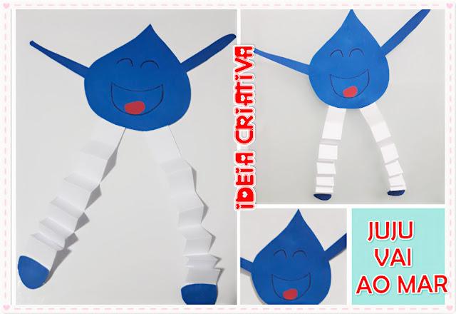 Dia da Água atividade educação infantil