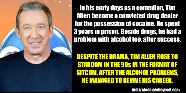 Success Stories From Famous People Who Failed Before Succeeding: Tim Allen