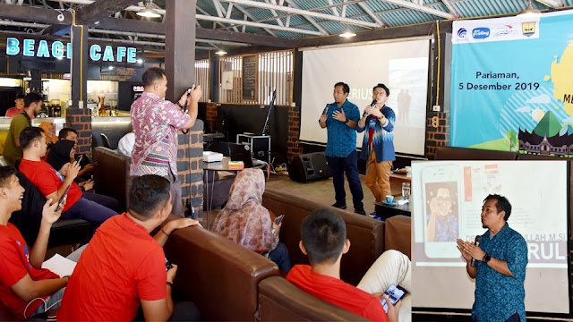 Rulli Nasrullah Berikan Tips Bermedsos yang Produktif ke Netizen Pariaman