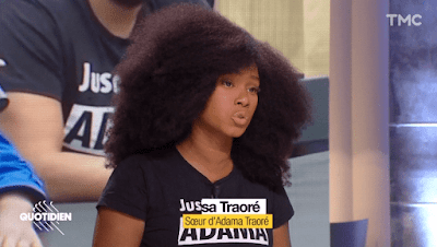 Assa Traoré : l'injure faite à Samuel Paty