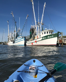 kayak; sit-on; fishing trawler; Giorgio Coniglio