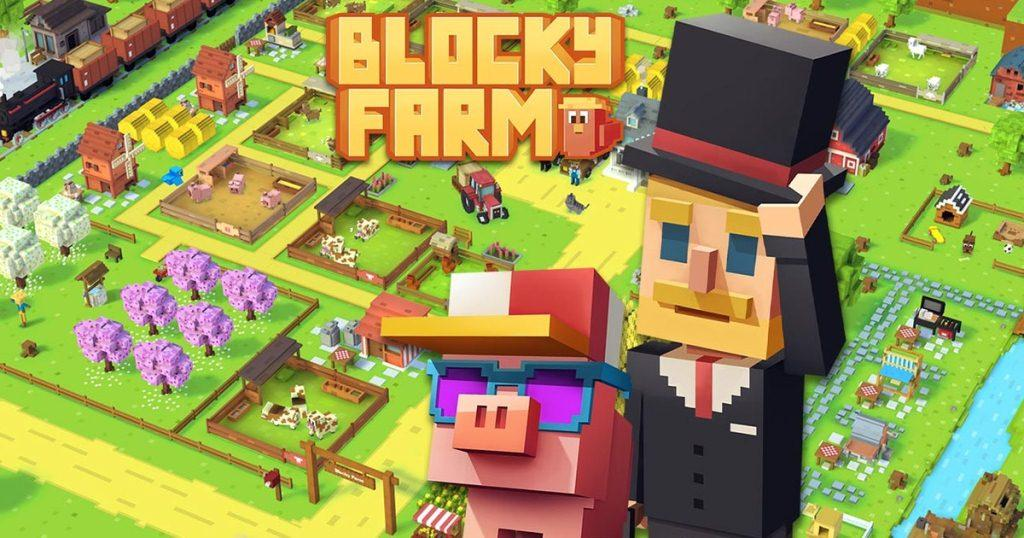 Game Blocky Farm
