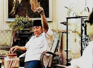 sebelum meninggal, Bung Karno diasingkan di wisma yaso