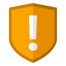 Folder Icon Security Caution