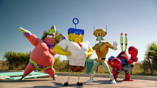 Trailer dan Poster Terbaru The SpongeBob Movie