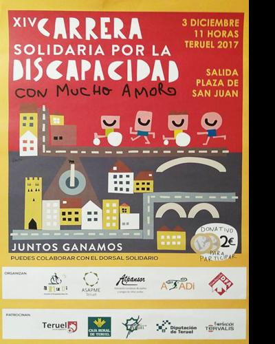 XIV Carrera Solidaria por la Discapacidad