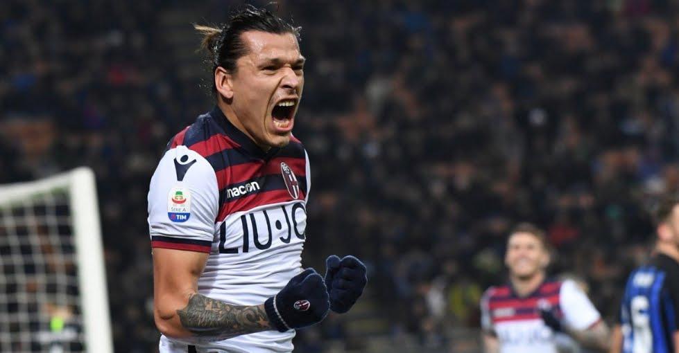 Foto Santander in Inter-Bologna 0-1: c'è chi sta peggio della Juventus (sempre).