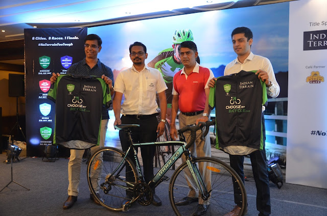 AMATEUR CYCLING CHAMPIONSHIP FORAYS INTO INDIA THROUGH INDIAN TERRAIN'S 'CHAMPIONS SPORTIVE SERIES'POWERED BY MONTRA