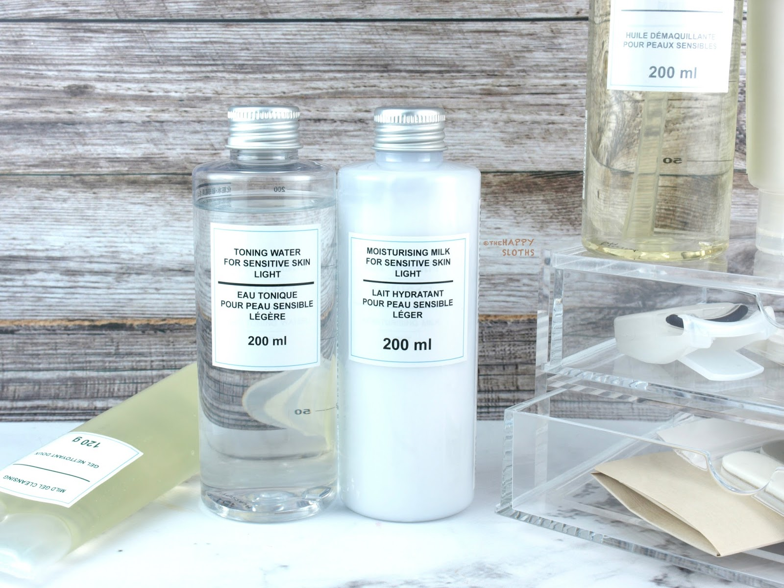 MUJI Skincare | Sensitive Skin Light Toning Water & Sensitive Skin Light Moisturizing Milk: Review