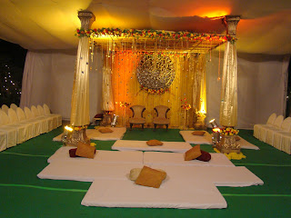 Style in design the mandap!