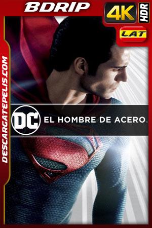 El hombre de acero (2013) 4k BDRip HDR Latino – Ingles