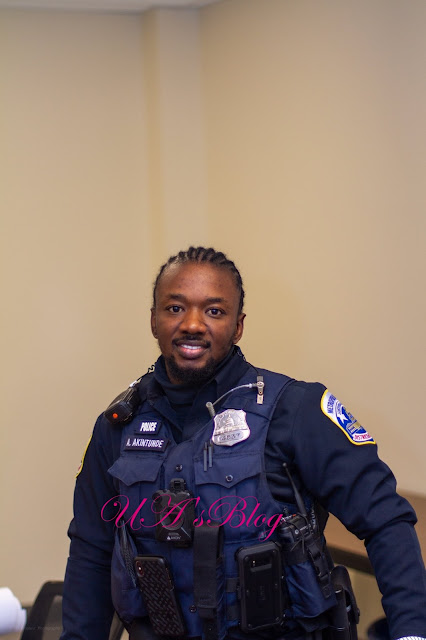 """""""4 days in Nigeria & I have already been profiled as a criminal by the Nigerian police force because I have braids"""" – Washington DC Police officer laments"""