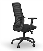 Cherryman Zetto Chair - Back Angle Profile