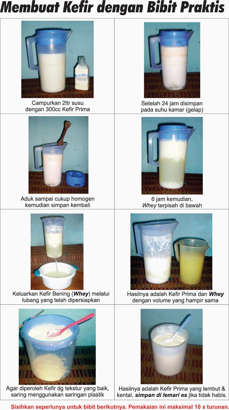 Khasiat dan Manfaat Susu Kefir Kambing Sapi yang Melegenda