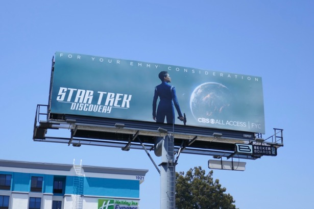 Star Trek Discovery 2019 Emmy FYC billboard
