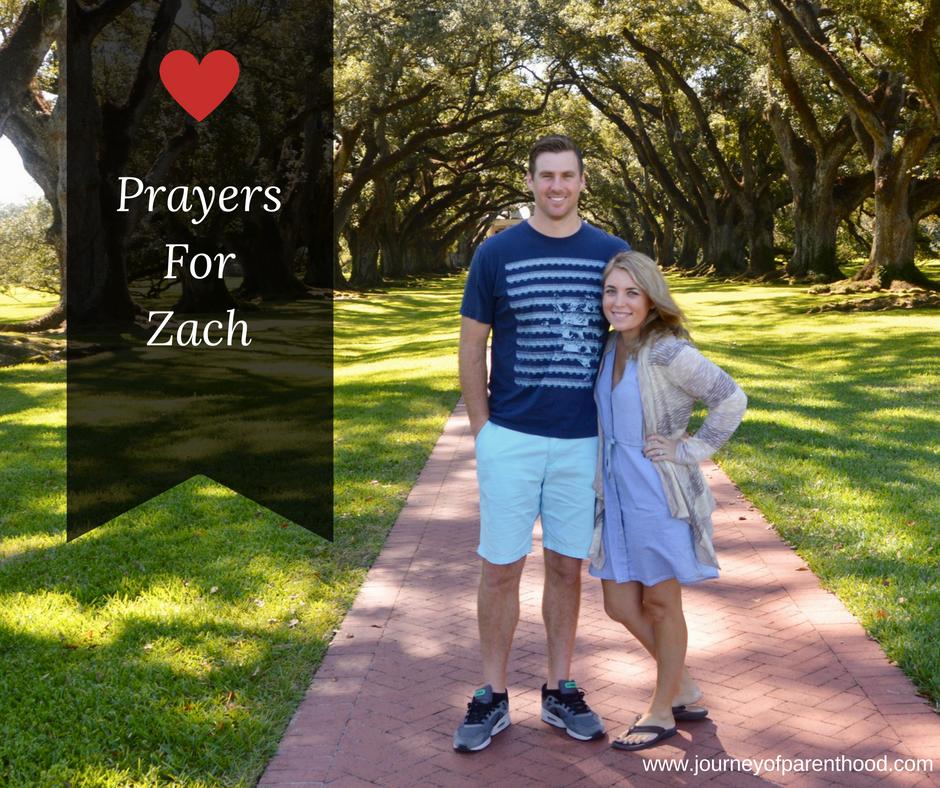 Prayers for Zach
