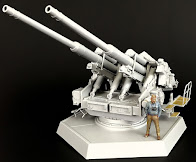 Build Review – TAKOM's - 12.8cm Flak 40 Zwilling in 35th scale