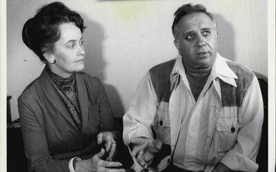 Ed e Lorraine Warren juntos