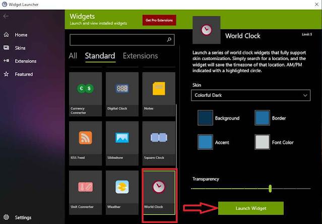 2 Cara Menampilkan Widget Jam Windows 10