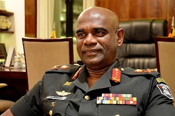Sri Lanka's former Army Commander General announced his candidacy for the presidential election