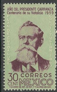 Mexico 1960 30c Pres. Venustiano Carranza