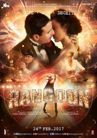 Rangoon 2017 BluRay 1GB Full Hindi Movie Download 720p Watch Online Free bolly4u